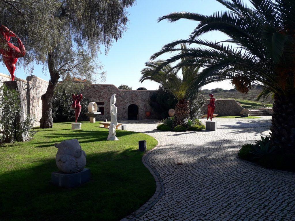 Wijngaard Quinta dos Vales in de Algarve, Portugal