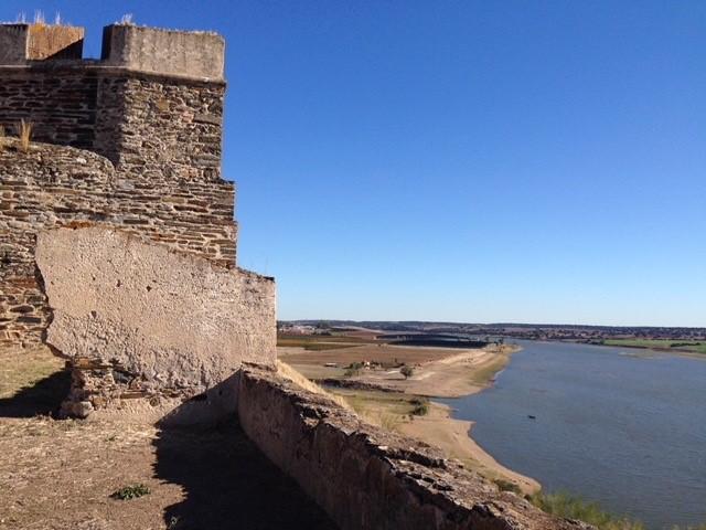Fortaleza de Juromenha aan de Rio Guadiana