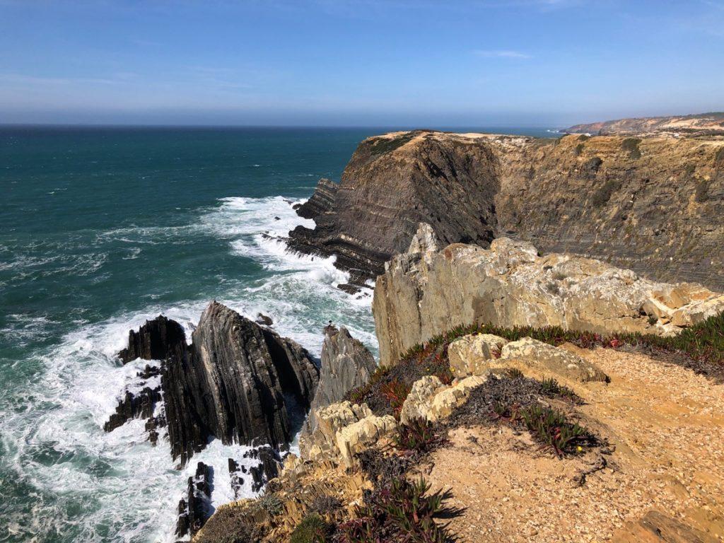 Cabo Sardão, kust in de Algarve
