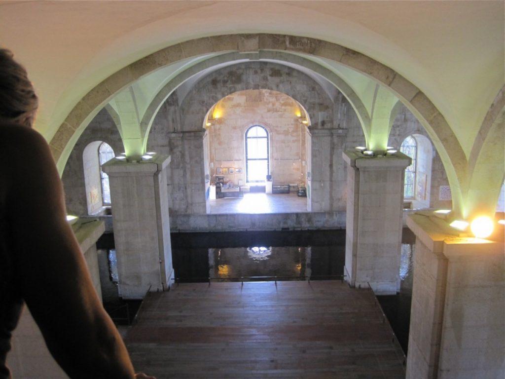 Interieur pompstation, nu Watermuseum Lissabon