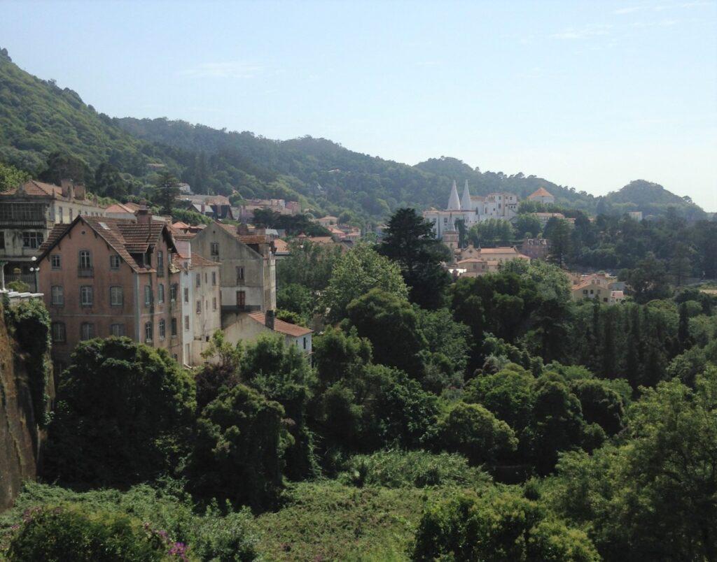 Gezicht op Sintra