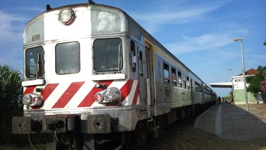 trein in Monte Gordo