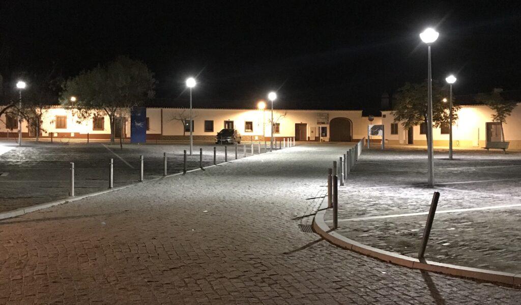 Aldeia da Luz, het dorpsplein