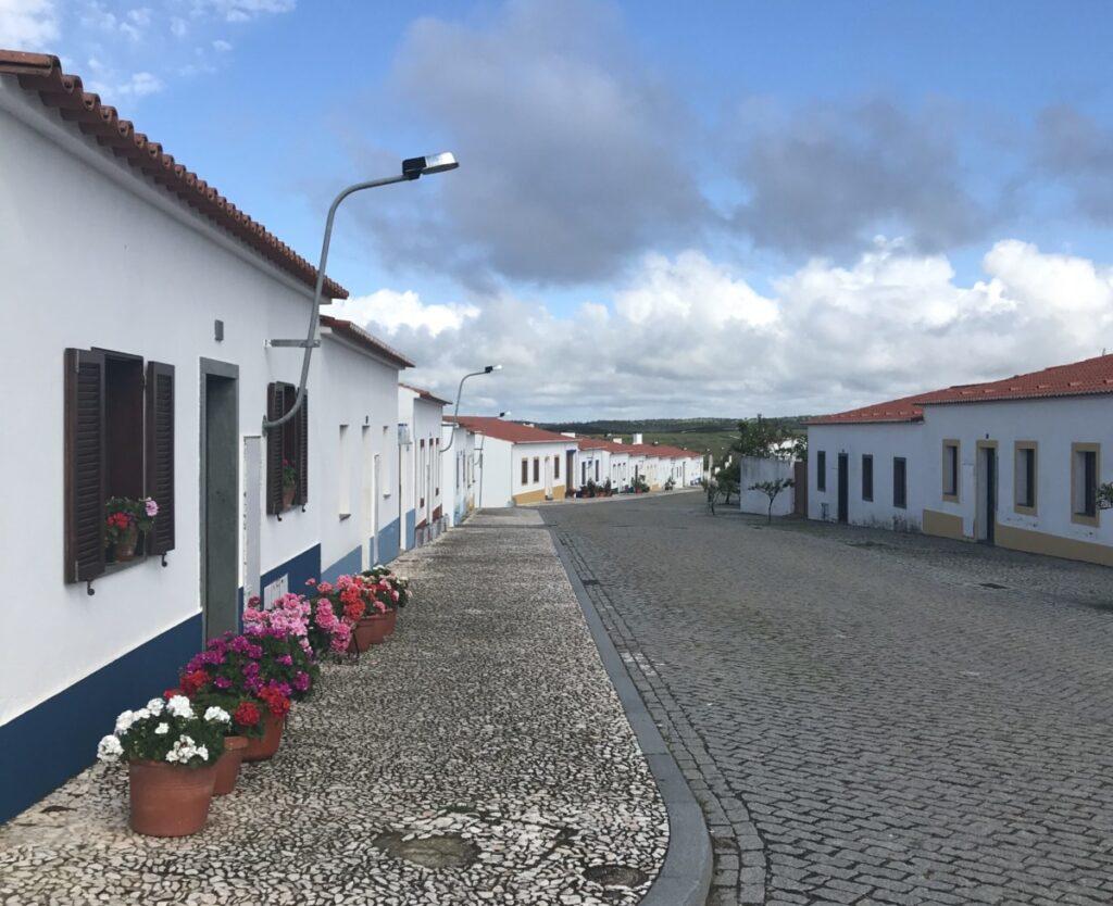 Aldeia da Luz - het dorp