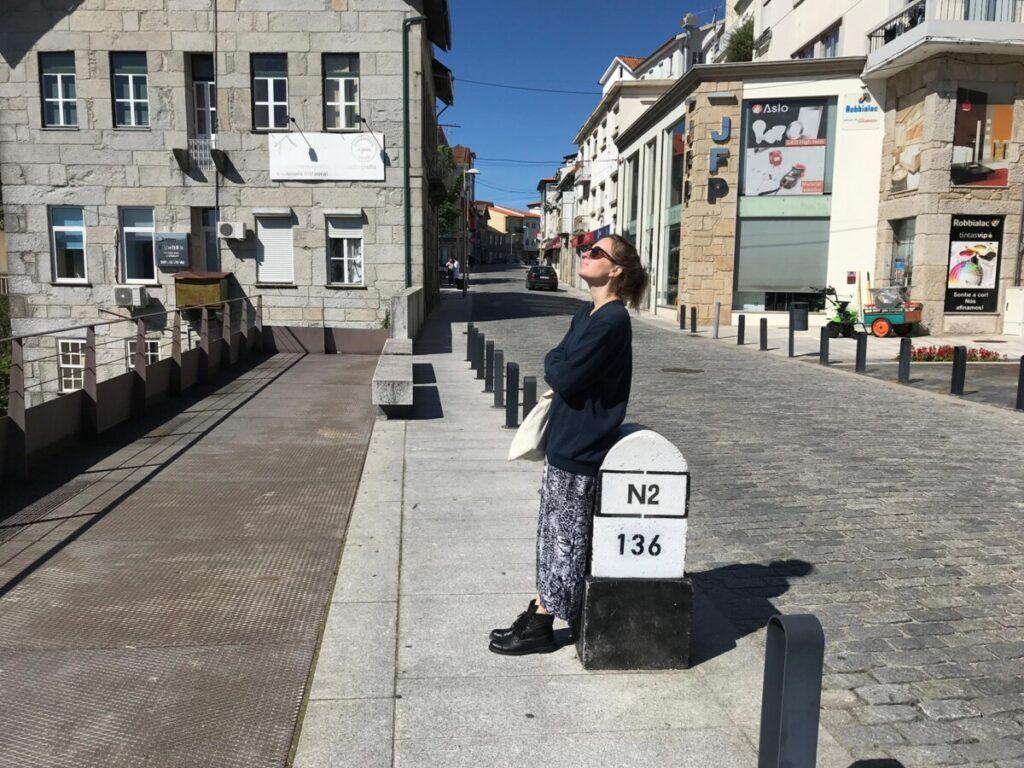 De N2 bij Castro Daire