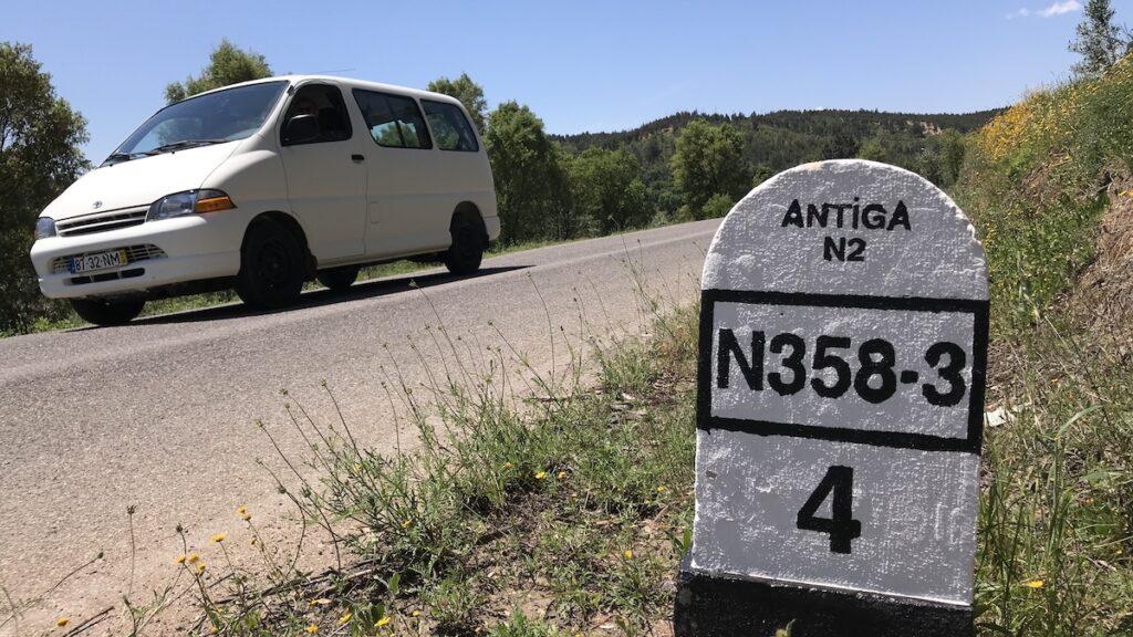 auto en paaltje Antiga N2 (N358-3)
