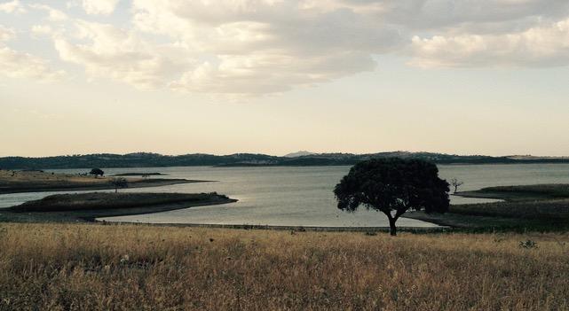 het stuwmeer van Alqueva