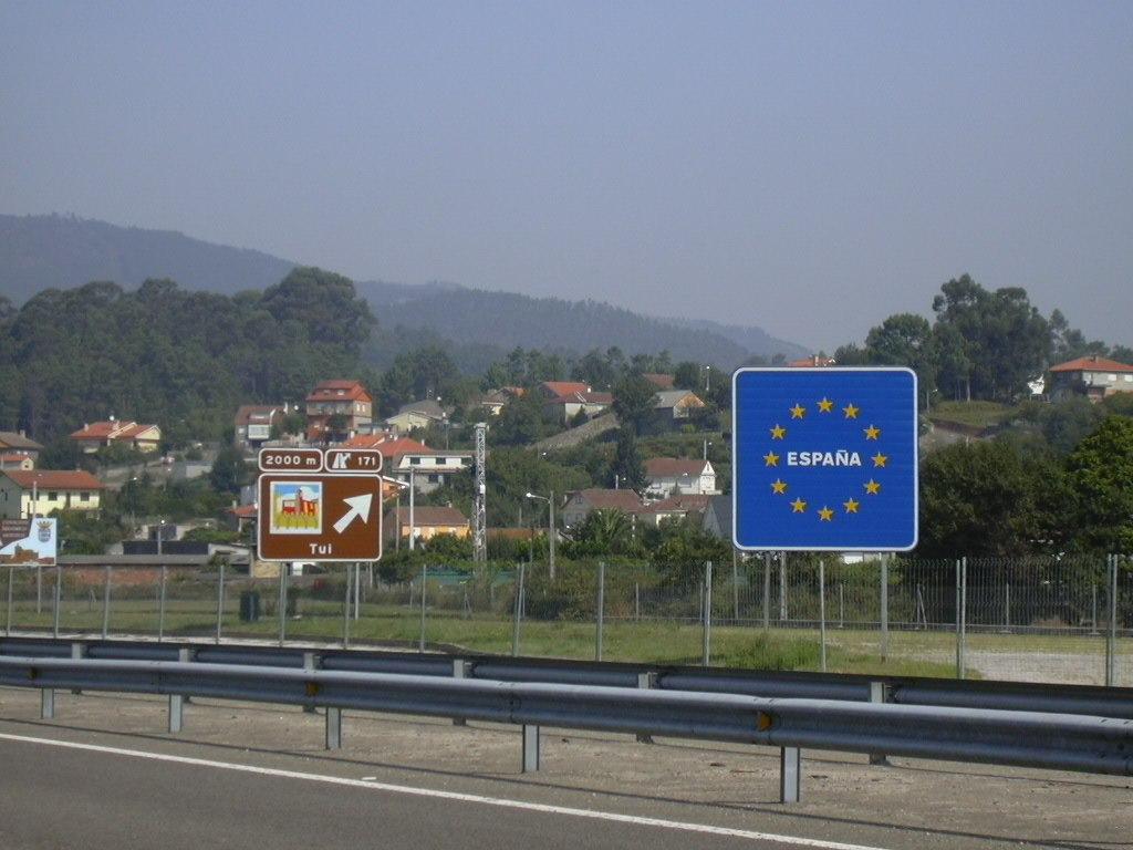 Grens Portugal-Spanje