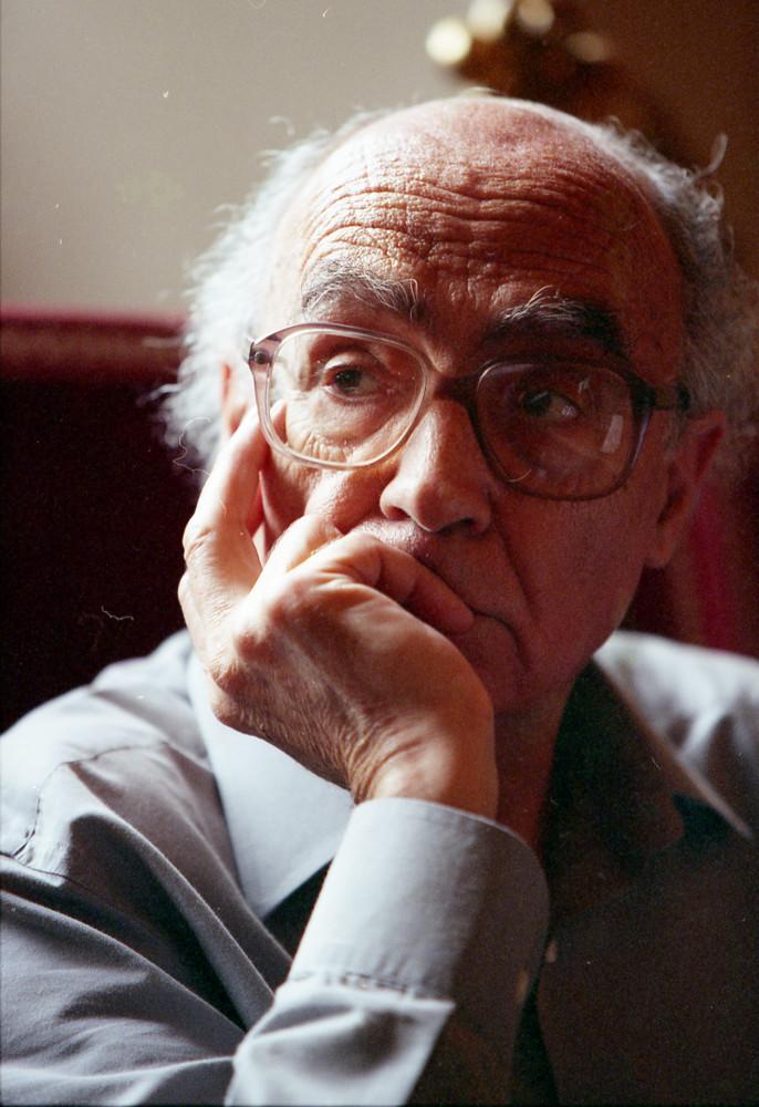Portretfoto van José Saramago.
