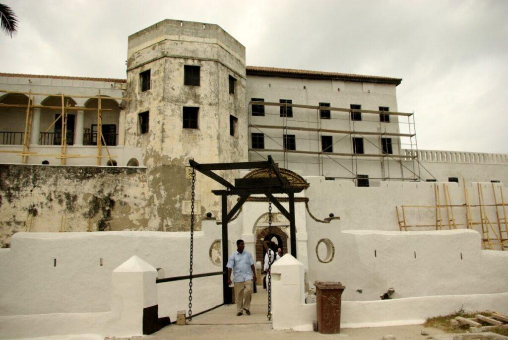 Elmina slavenkasteel Ghana