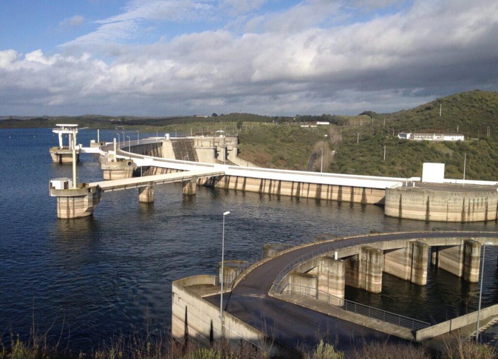 De dam van Alqueva