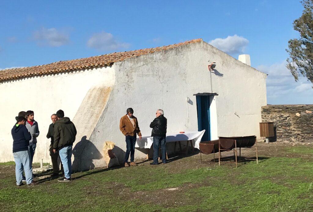 De plek waar de verjaardag van Luz wordt gevierd