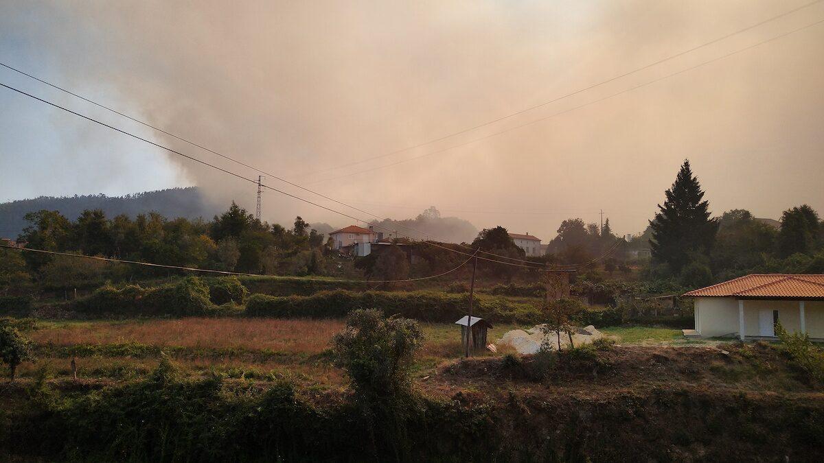 bosbrand bij Cedrim