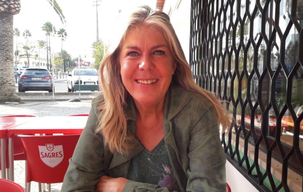 Voorzitter Margaret Krijnen van de Nederlandstalige vereniging Portugal (NCA)