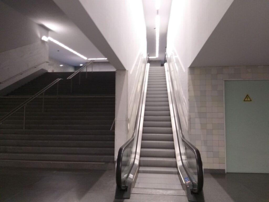 Roltrap in metrostation São Bento
