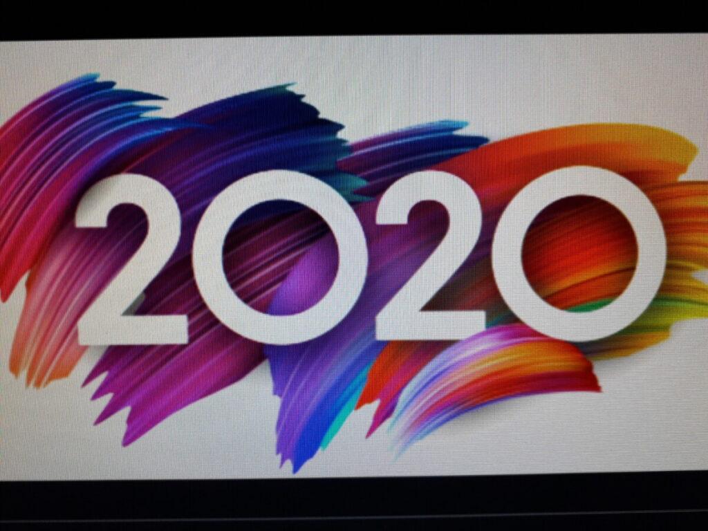 Logo van het corona jaar 2020