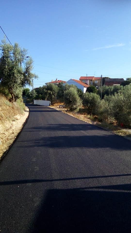 Nieuw asfalt