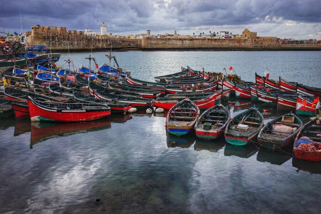 De haven van El Jadida