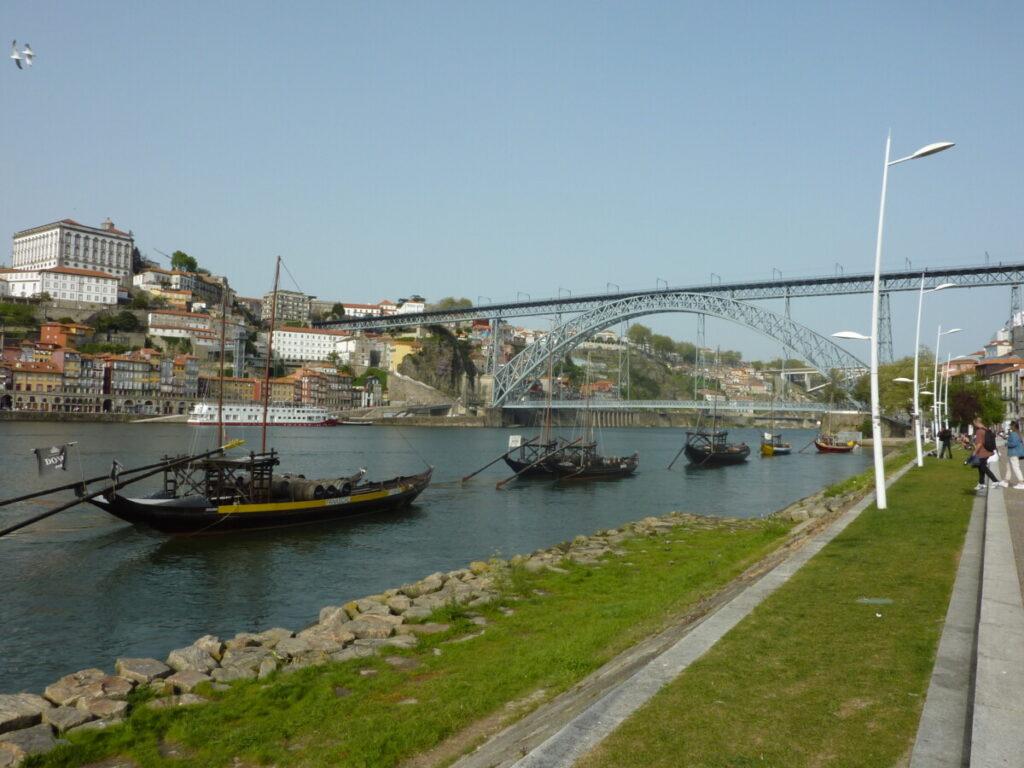 Zicht op Ponte Luís I