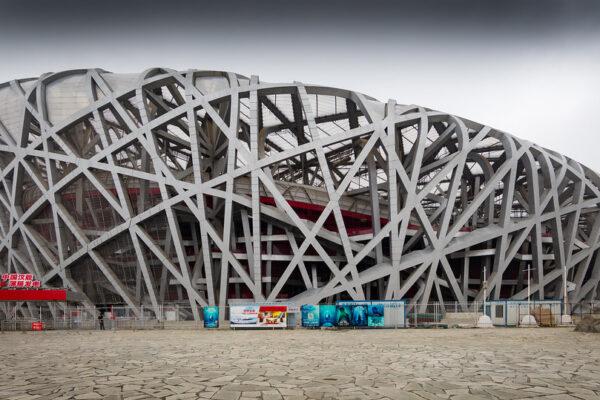vogelneststadion voor de Olympische Spelen van 2008 in Beijing